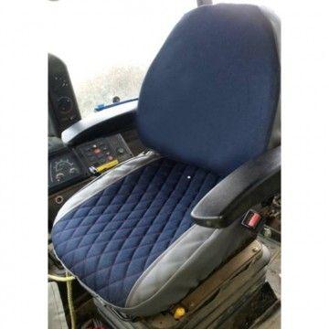 Housse de siège pour pelle et chargeuse JCB