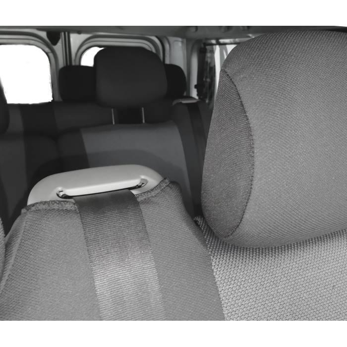 Housses de si/ège en cuir synth/étique compatible avec Opel Vivaro B 2014-2019 EIN